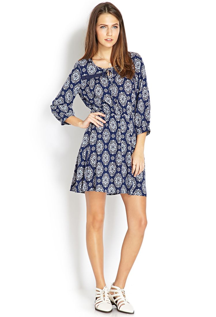 Boho moment fit flare dress forever 21 canada fit