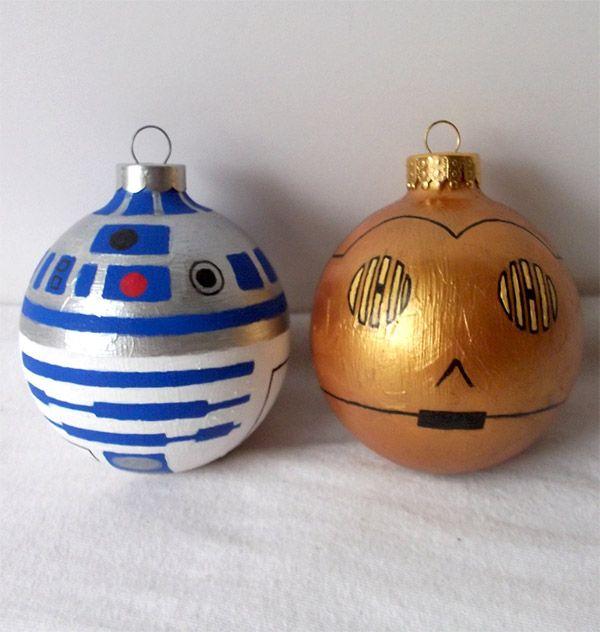 Star Wars Holiday Ornaments | Star Wars | Pinterest | Ornament ...