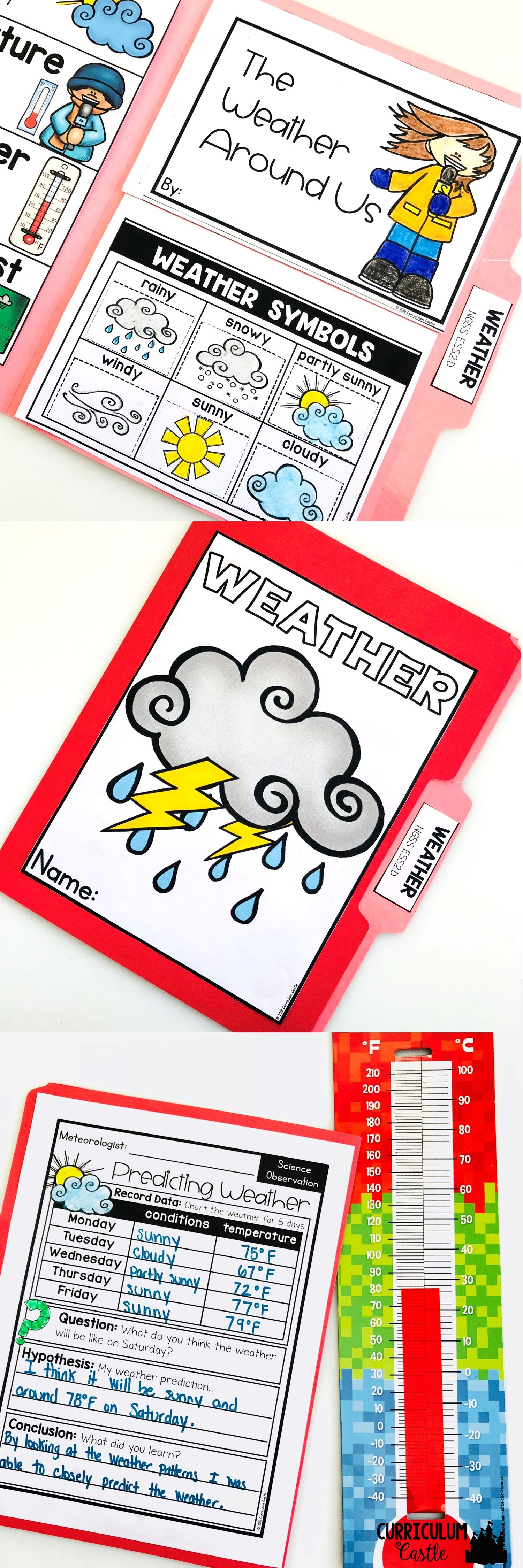 Weather Science Activites Folder