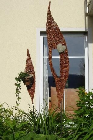 top 25 ideas about weiden flechten on pinterest | created by, Hause und Garten