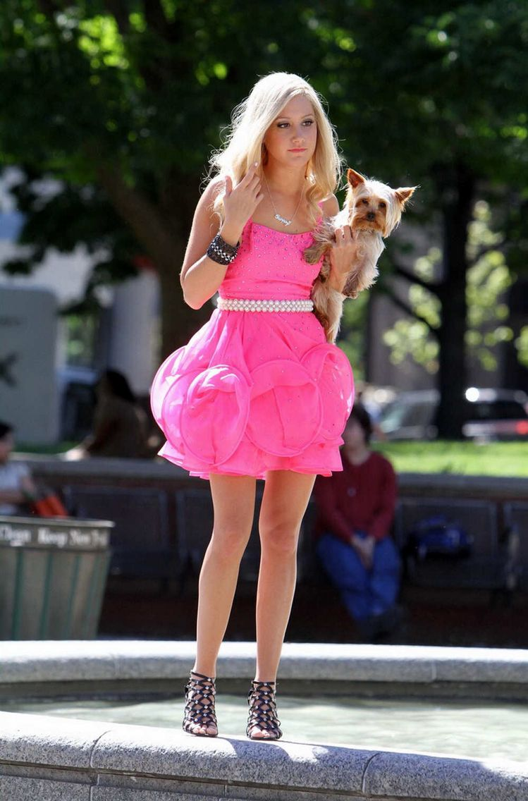 Sharpay Evans sparkly pink dress   Outfits I Want!   Pinterest ...