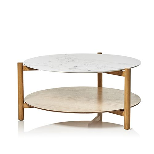 Adairs Rattan Coffee Table: Camilla Collection Coffee Table Marble
