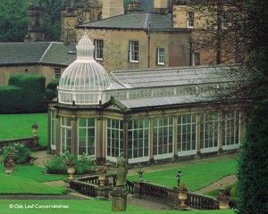 the conservatory at broughton hall in yorkshire england is one of the most precious and unusual. Black Bedroom Furniture Sets. Home Design Ideas