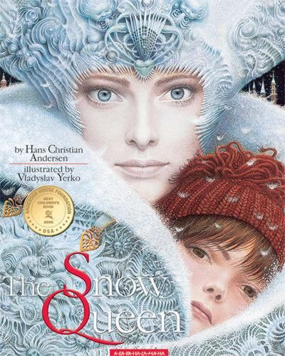 Pictures of  The Snow Queen. The Best Children's Book of the 2006. Extraordinary Illustrations by Vladyslav Yerko. seriously? a.maz.ing.