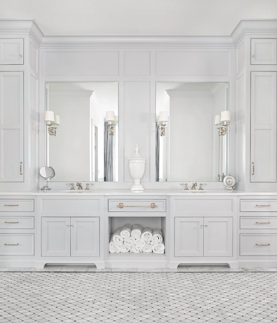 The 15 Most Beautiful Bathrooms On Pinterest Bathroom Cabinets