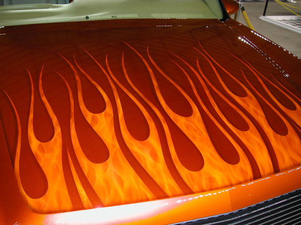 Autotrader Flame Article Custom paint jobs, Car painting
