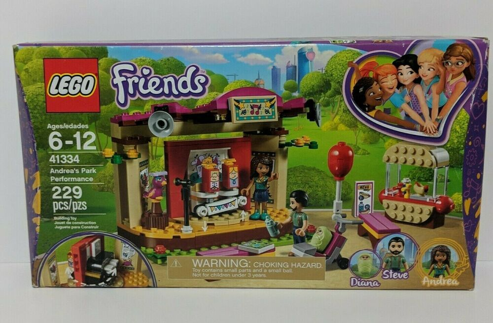 New in Sealed Box LEGO Friends 41334 Andrea's Park Performance