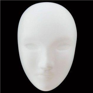 Mask It Mini White Full Face Mask   Shop Hobby Lobby   Art craft store, Craft stores, Mask shop
