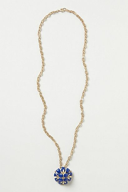 Fun! Medallion Bloom Necklace #anthropologie