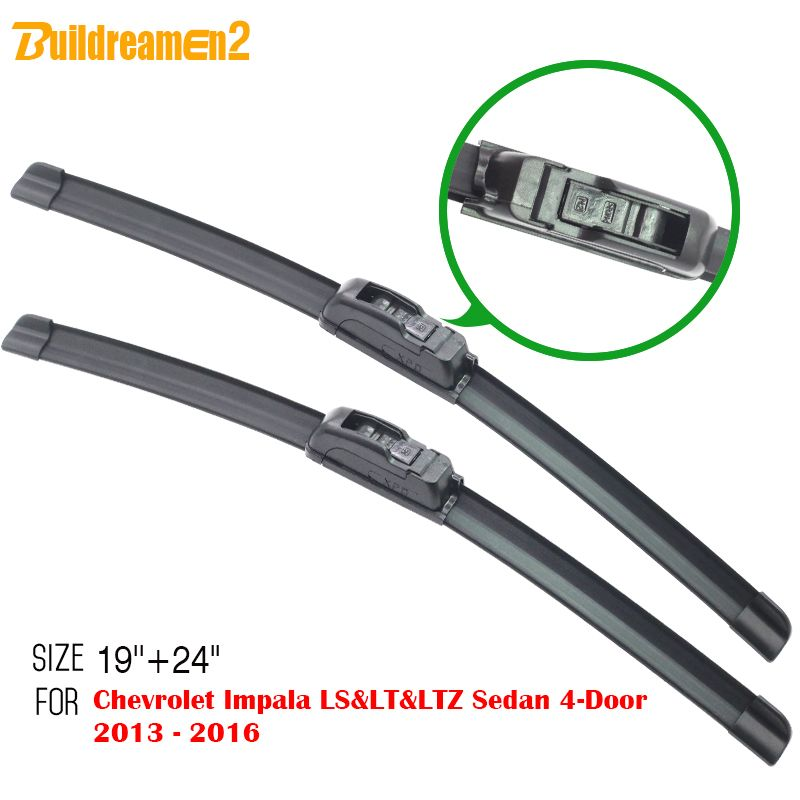 Buildreamen2 Car Windscreen Wiper Soft Rubber Windshield Wiper