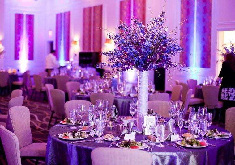 decoración bodas vintage modernas y los colores de moda para el 2018