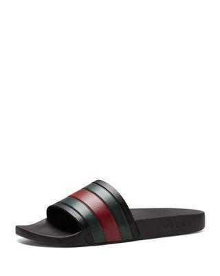 d64fd7cd6675 Gucci Pursuit  72 Rubber Slide Sandal