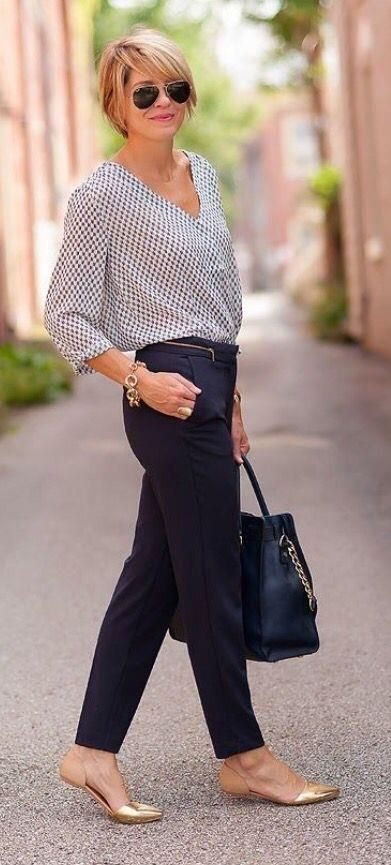 2018 Business Outfit Damen Kleidung Büromode #businesscasualoutfitsforwomensummer