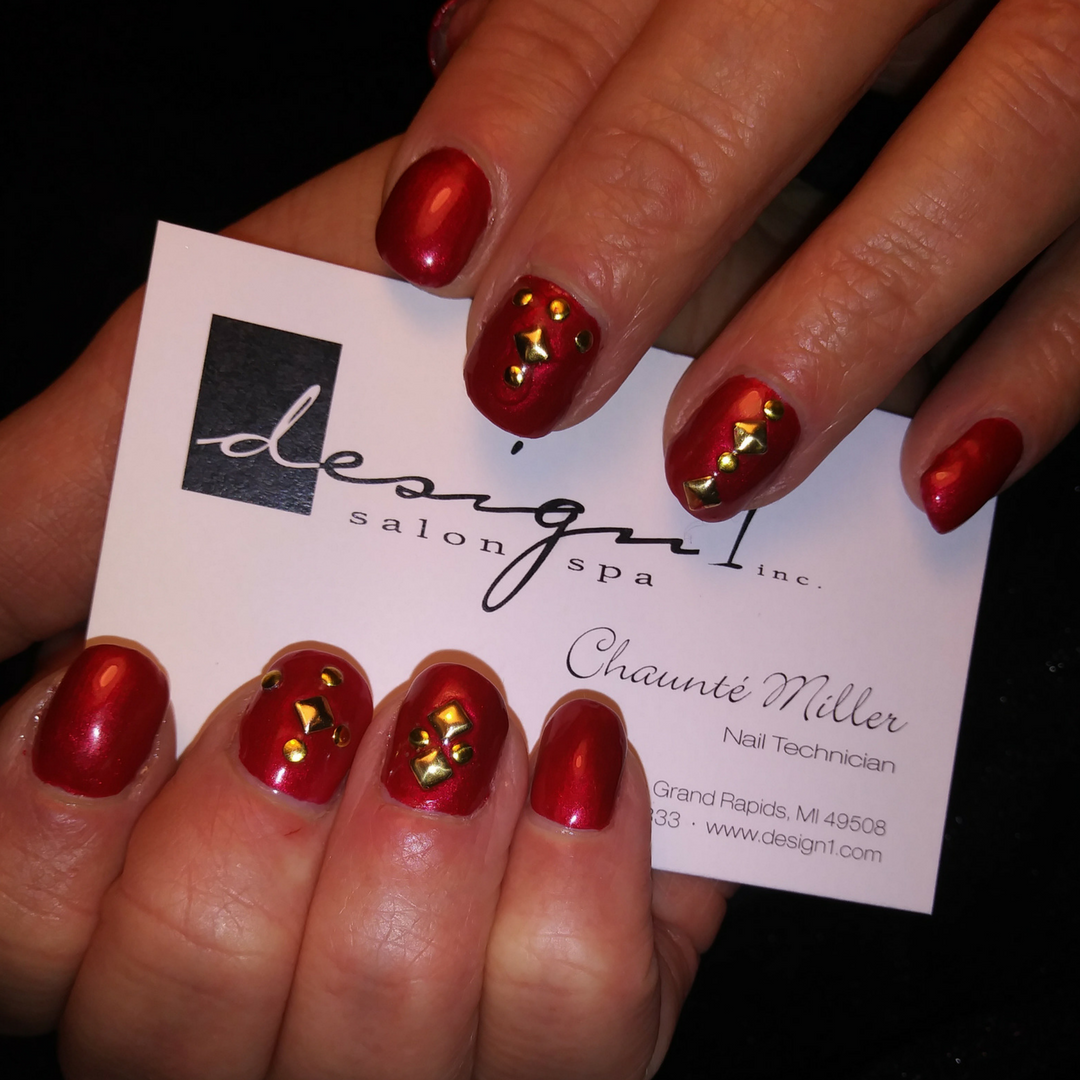 These Nails By Chaunte At Our Gaines Location Have Us Feelin Like Christmas Looking To Step Up Your Nail Game For The Holiday Nail Spa Nail Games Spa Salon