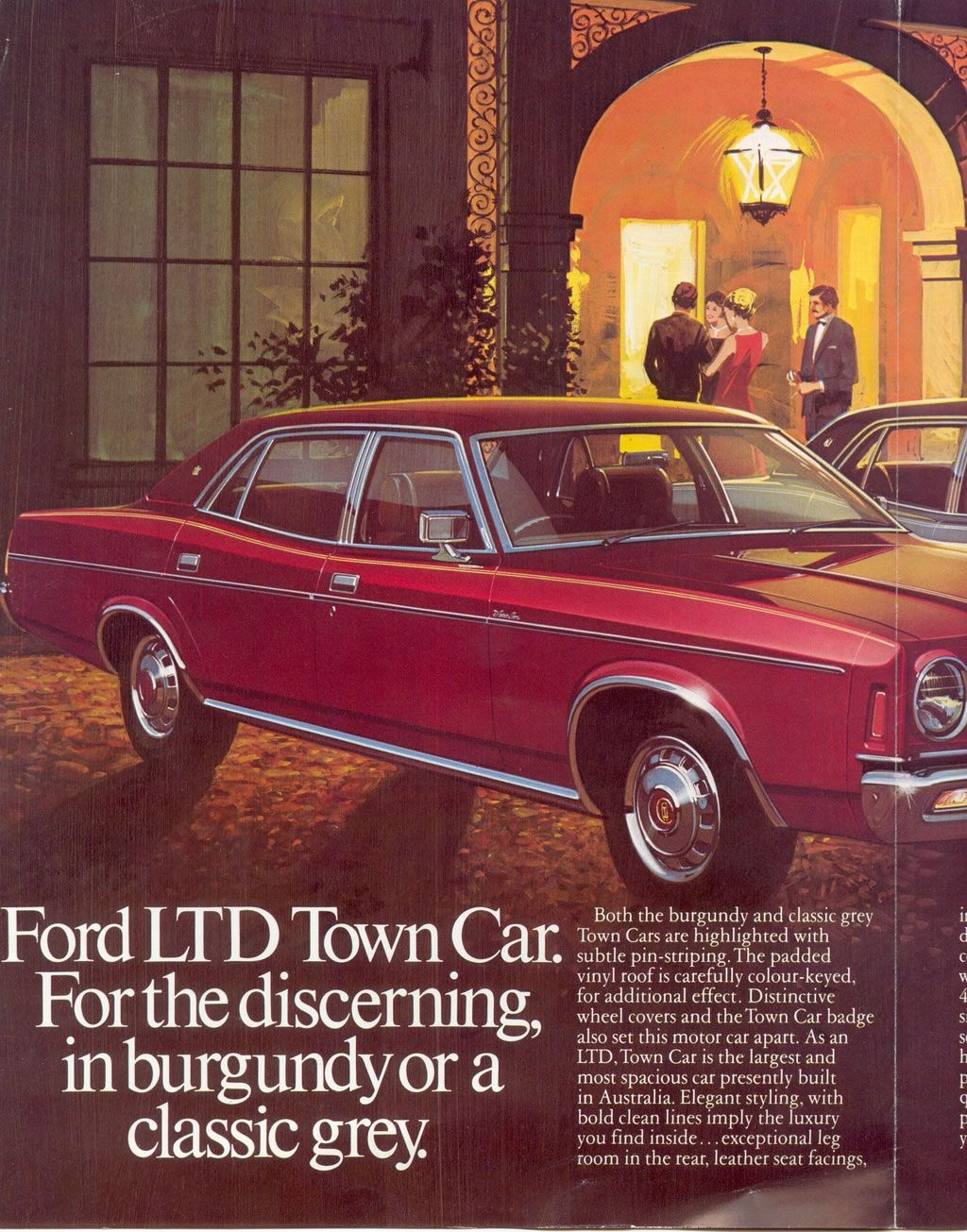 Ford Australia Advertisement 1970s Ford Ltd Aussie Muscle Cars