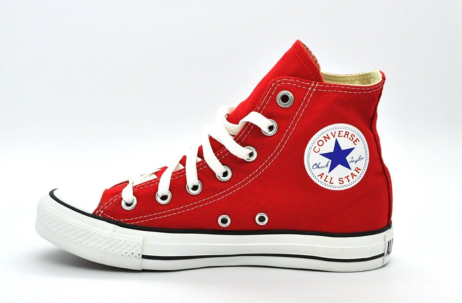 Red converse sneakers - light weight