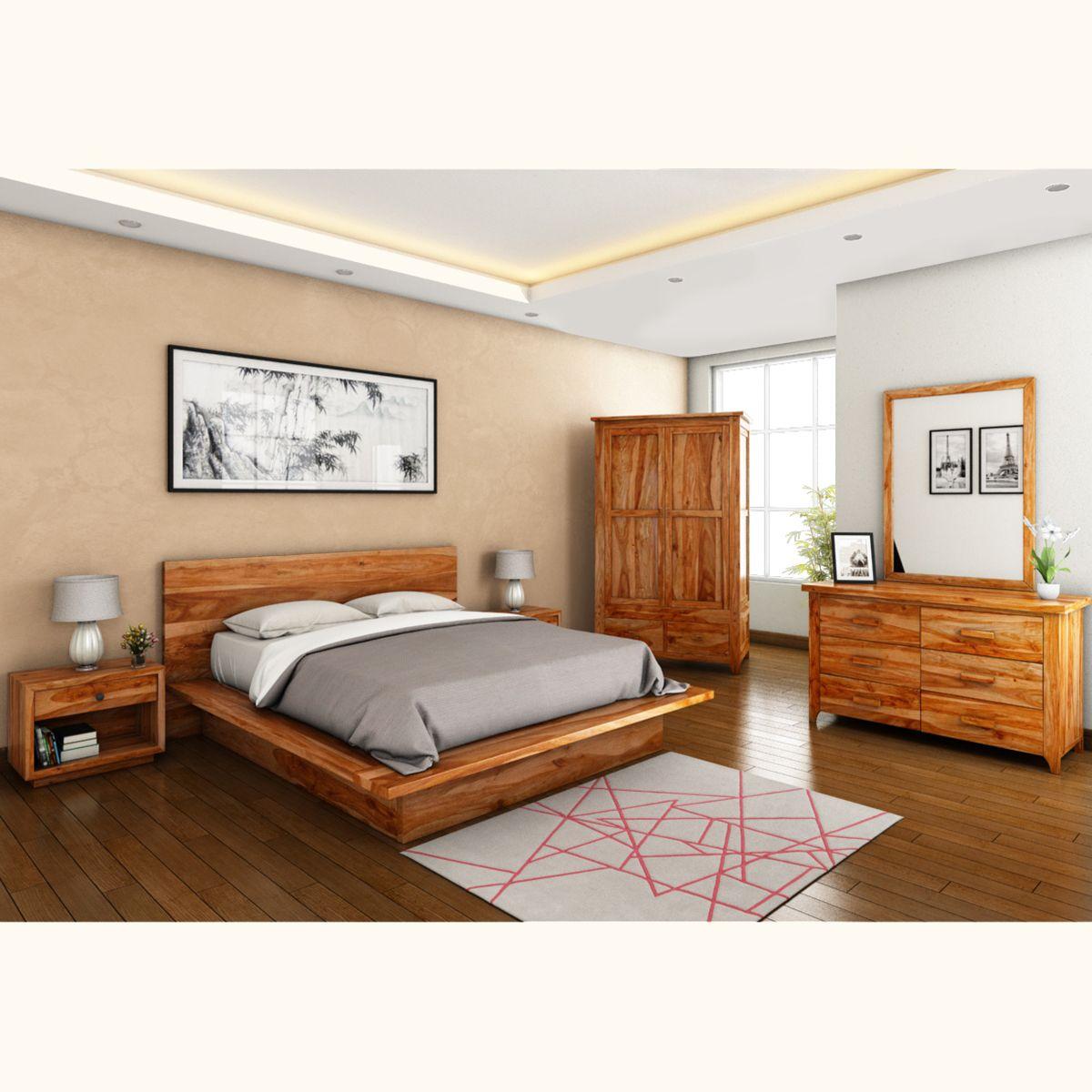 Real Wood Bedroom Sets Bedroom Curtains And Matching Bedding Bedroom Under Eaves Master Bedroom Bed: Delaware 6 Piece Bedroom Set In 2019