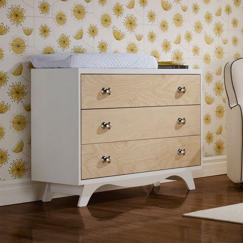 Dutailier Mango Dresser - Natural and White 46'' x 19 3/4'' x 35'' 1000.00