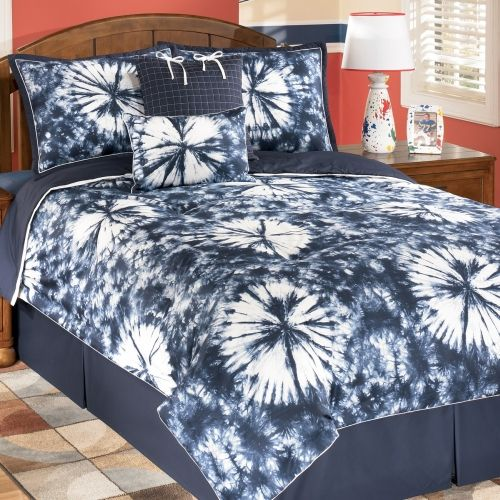 tie dye bedding | Blue Tie Dye Bedding Collection | Bedding sets