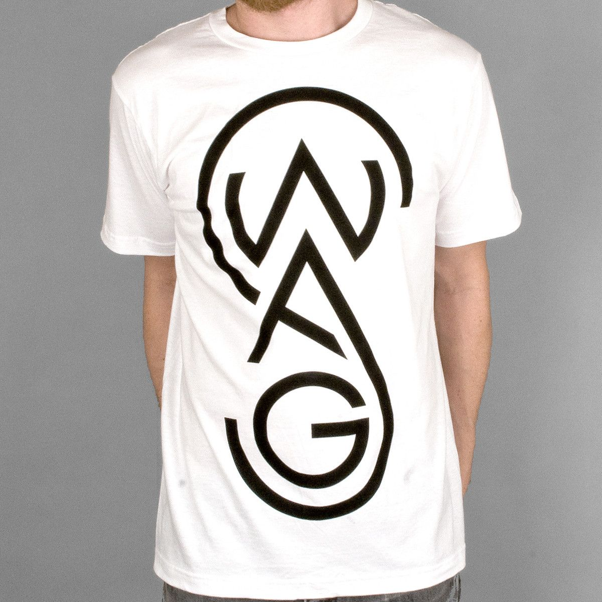 Swag Tee White  by Paper Root Clothing
