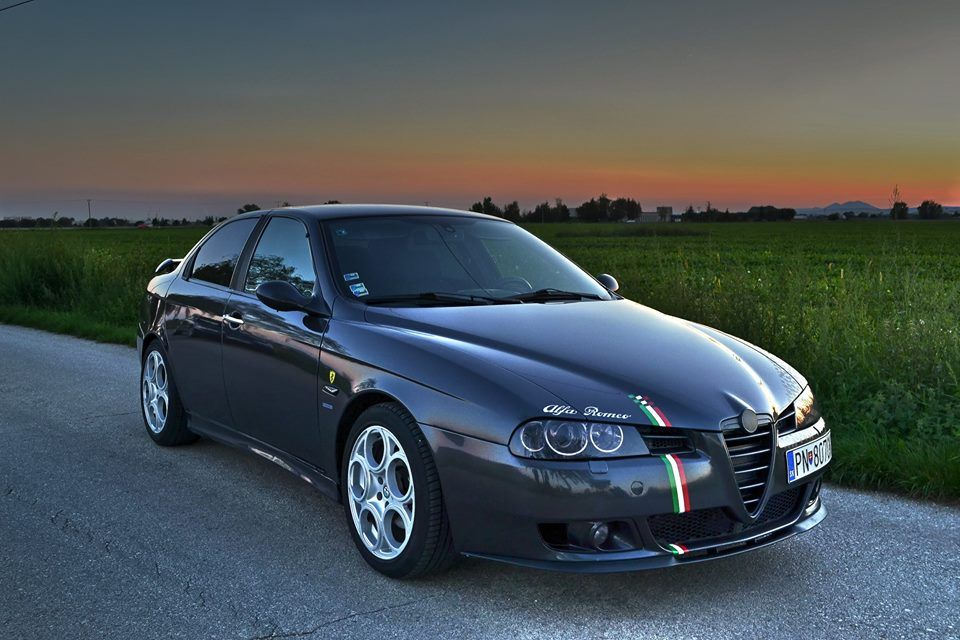 Alfa Romeo 156 Those Wheels Make A Big Difference Alfa Romeo 156 Alfa Romeo Cars Alfa Romeo