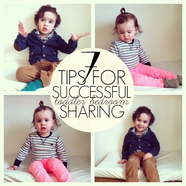 Siblings Sharing Bedroom: 7 Tips For Successful Sibling Bedroom Sharing: Toddler
