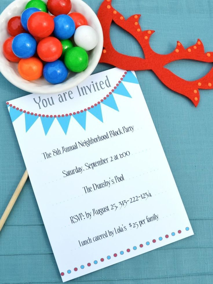 17 Free Printable Birthday Invitations You Can Print Free - Free Printable Dinner Party Invitations