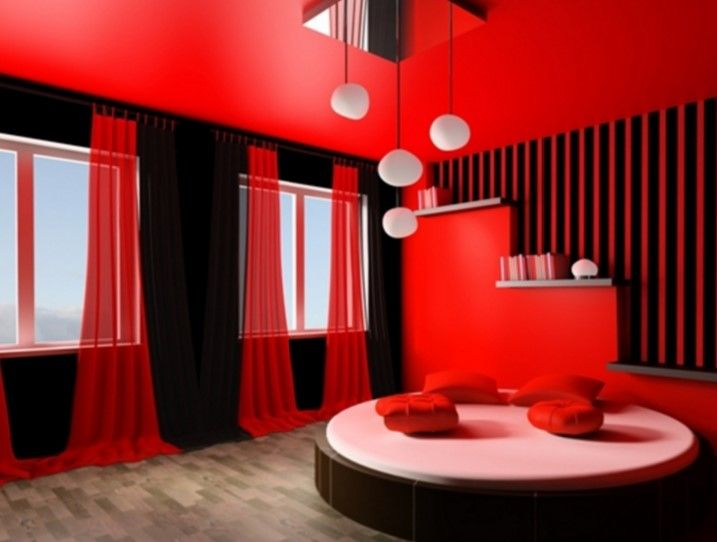 15 Pleasant Black White And Red Bedroom Ideas Home Design Lover Red Bedroom Design Bedroom Red Bedroom Colors
