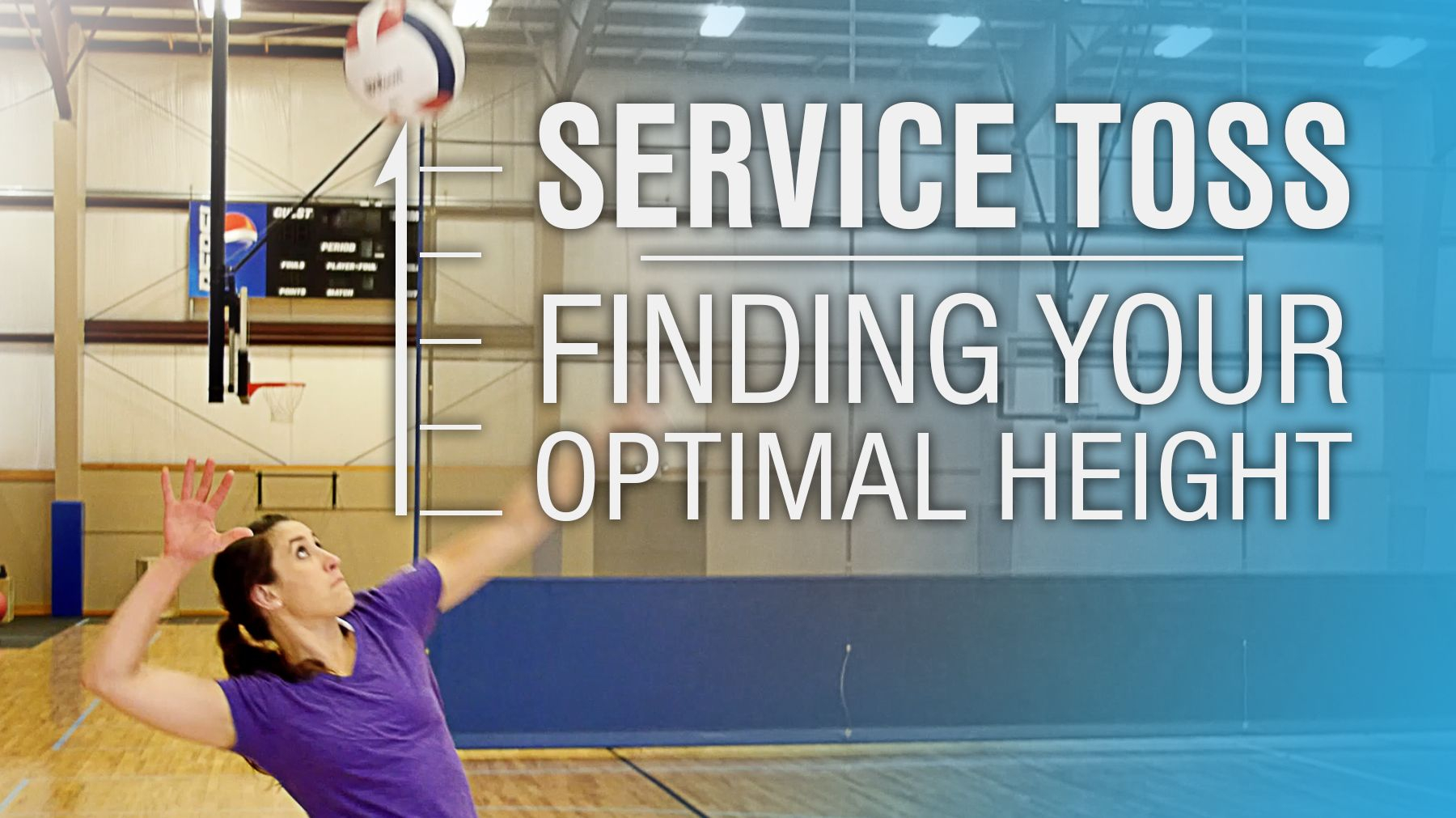 Service Toss Finding Your Optimal Height The Art Of Coaching Volleyball Coaching Volleyball Volleyball Training Volleyball Serving Drills
