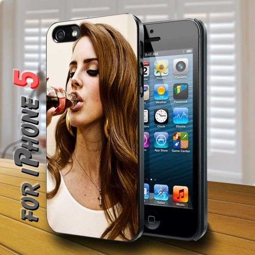 lana del rey drinking coke - design case for iphone 5 | shayutiaccessories - Accessories on ArtFire