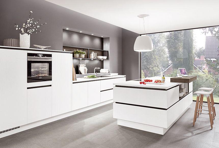 Pin von Monika Biermann auf Küche in 2020 Moderne weiße