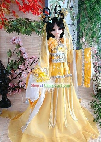 Ancient Chinese Yellow Fairy