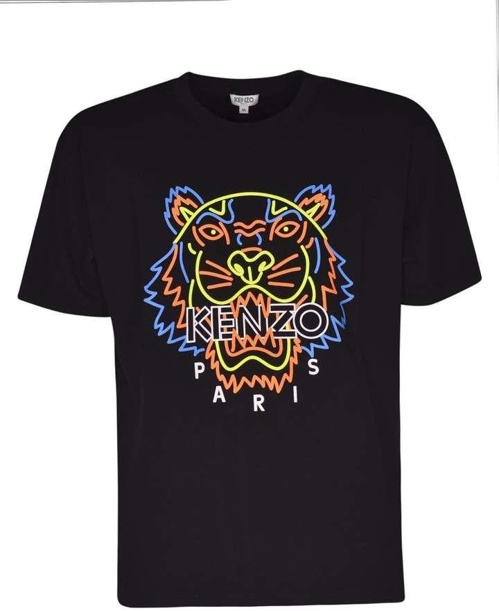 b057749b Kenzo Neon Tiger T-shirt | Products in 2019 | Tiger t shirt, Kenzo ...