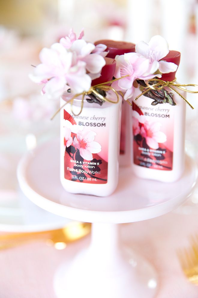Japanese Cherry Blossom Party Tablescape Cherry Blossom Wedding