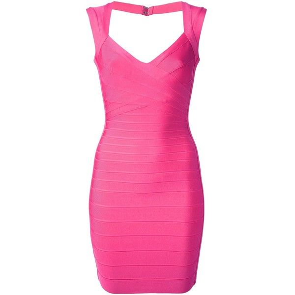 Hervé Léger fitted sleeveless bandage dress and other apparel, accessories and trends. Browse and shop 8 related looks.