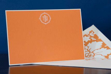 bright correspondence cards