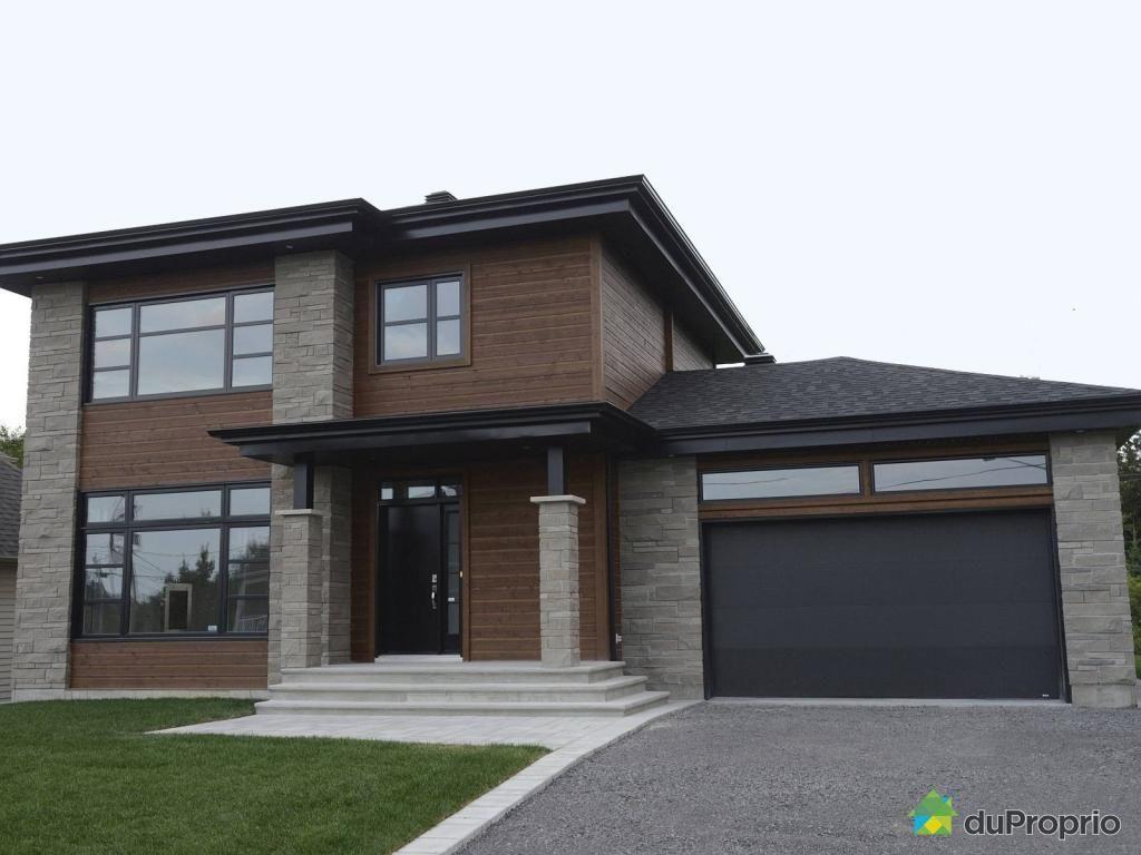 Maison Neuve à Vendre Sillery 1450 Avenue Du Buisson Immobilier Québec Duproprio 673972 House On A Hill Outdoor Decor Exterior