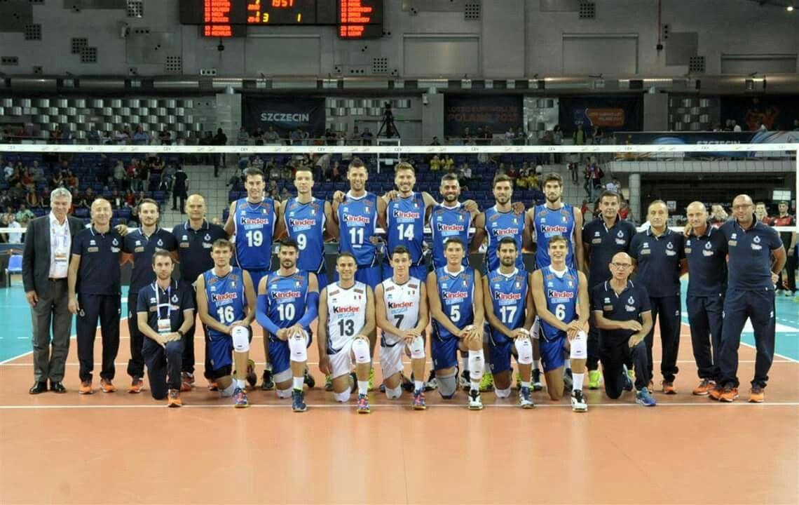 Germania Italia Europei 2017 Mens Volleyball Volleyball Men