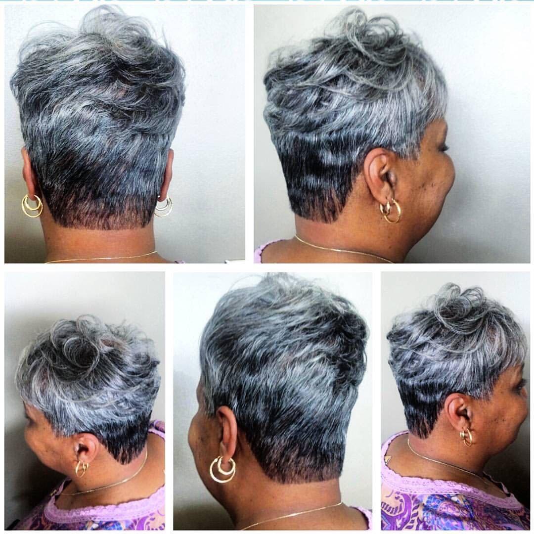 13+ Short salt pepper hairstyles ideas