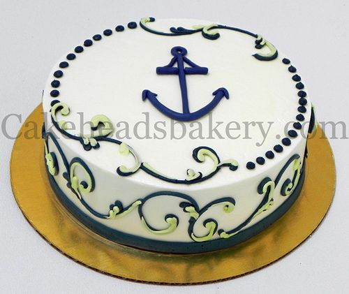 Tremendous Anchor Cake With Images Anchor Cakes Anchor Birthday Cakes Cake Funny Birthday Cards Online Alyptdamsfinfo