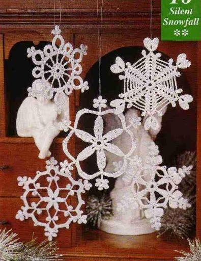 Boże Narodzenie - śnieżynki - Urszula Niziołek - Picasa-Webalben