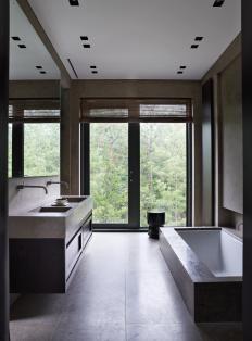 Woonmagazine home interior design architecture ideas serene bathroom also best decor  designing images future house rh pinterest
