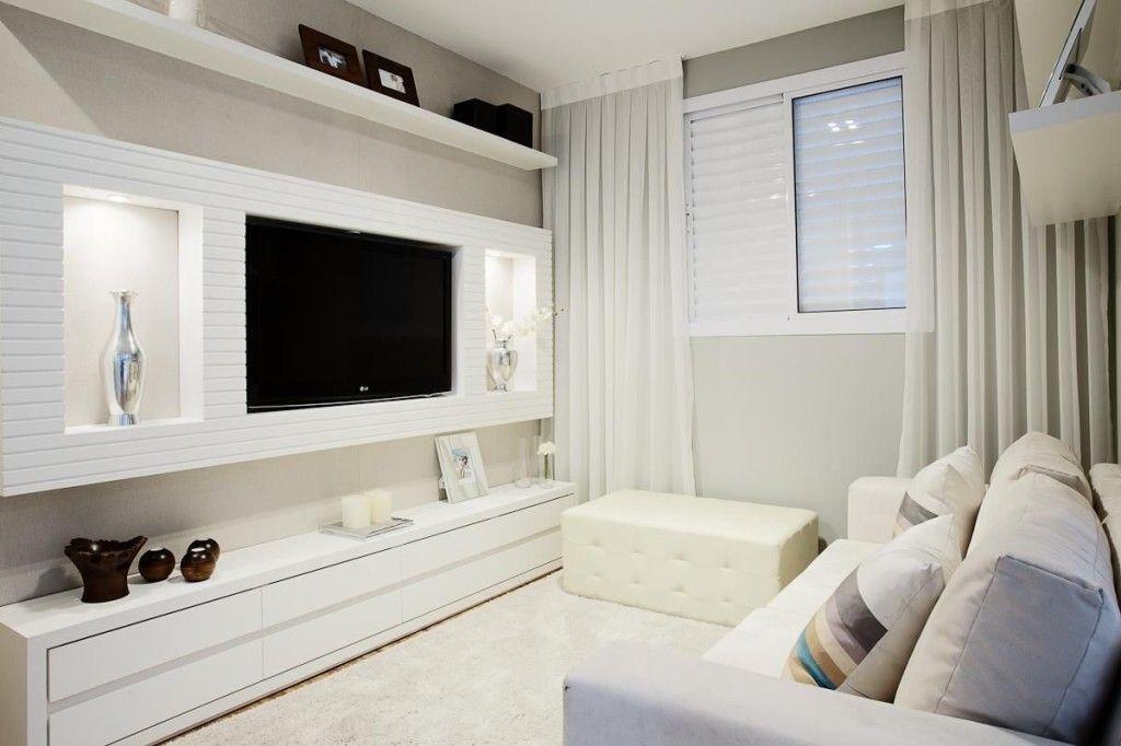 Decoração De Salas Pequenas. Tv UnitsTv WallsSmall Living RoomsCondo ... Part 67