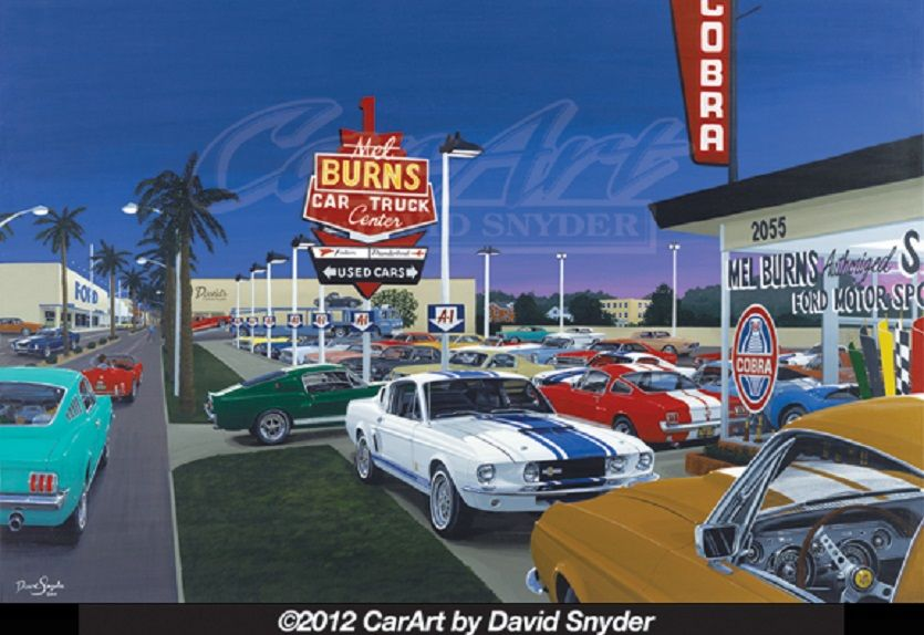 Chevy Dealers In Delaware >> Mel Burns Late 1960's Ford Dealership. | Old Gas Stations ...