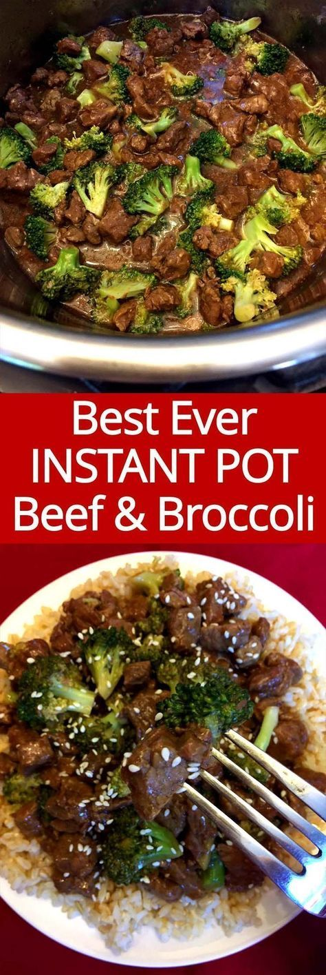 Instant Pot Beef And Broccoli #beefandbroccoli