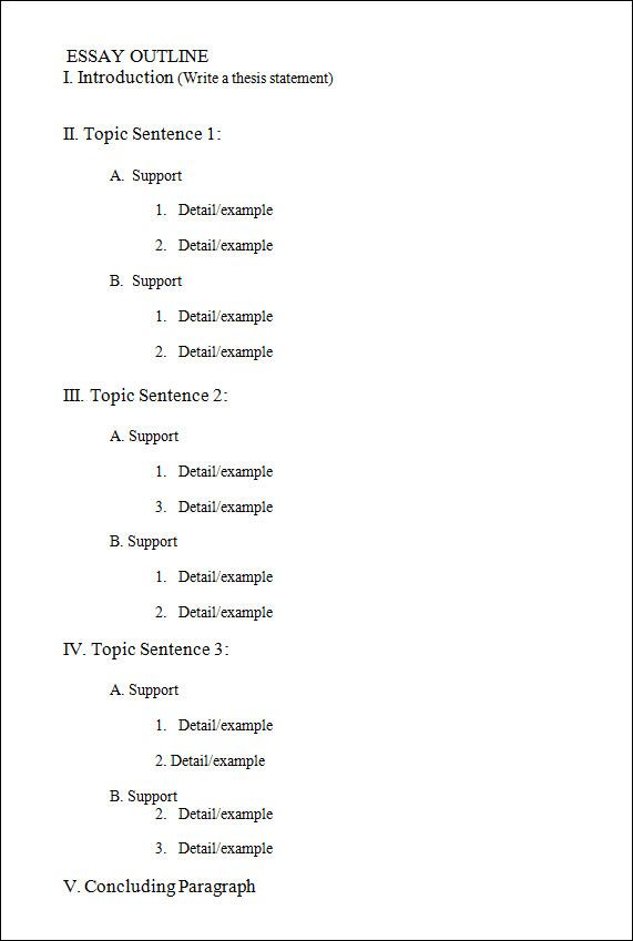 Outline Template   11+ Download Free Documents In PDF , Excel , Word
