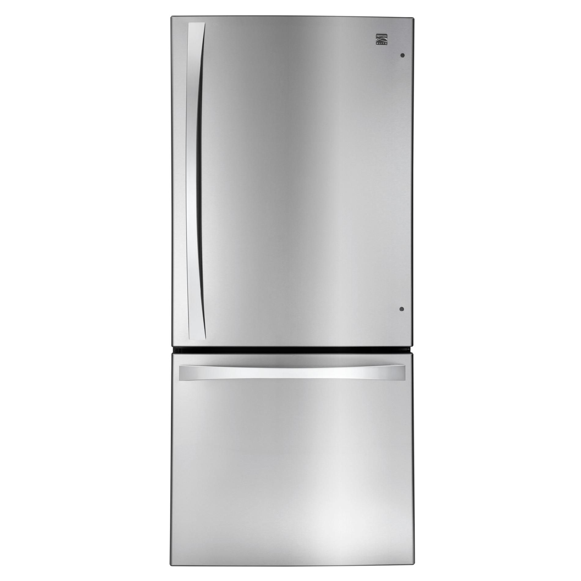 Kenmore Elite Bottom Freezer Refrigerator another boring one