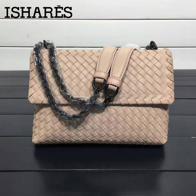Cheap bag laptop, Buy Quality bag kitty directly from China bag skin  Suppliers  ISHARES sheepskin woven shoulder bags genuine leather chain bags  women ... ab2ad9ca8b