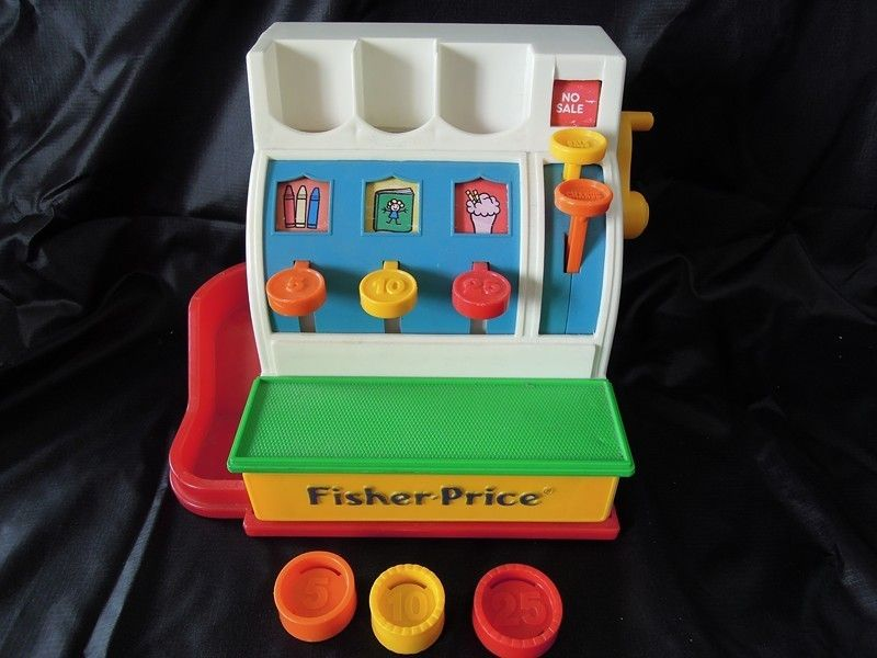 caisse enregistreuse jouet vintage fisher price toys pinterest caisse enregistreuse jouet. Black Bedroom Furniture Sets. Home Design Ideas