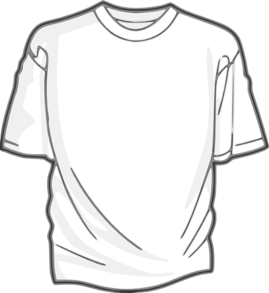 Lights In The Heights T Shirt Designs Needed Clipart Black And White Blank T Shirts Shirt Template